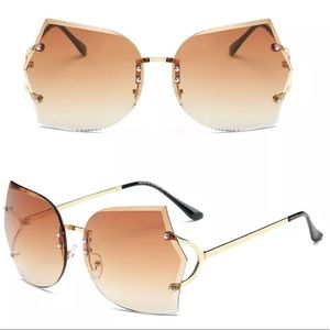 Edgy Frameless Sunnies UV400